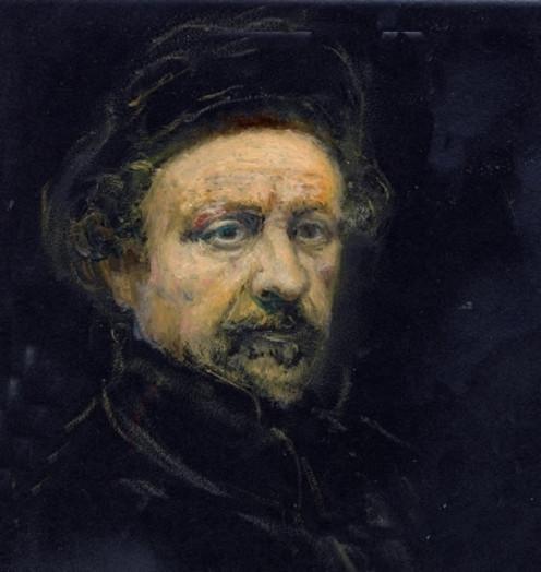 Rembrandt Self Portrait 1659