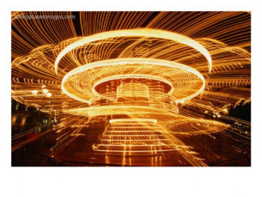 There are times, during a dizziness attack,  you see things as if they are in a spinning world!