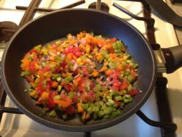 Sauteed vegetabels