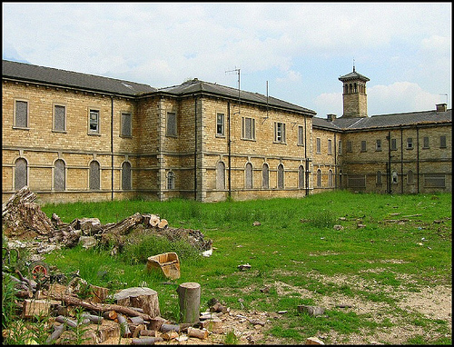 St Johns Hospital, formerly The County Pauper Lunatic asylum in Bracebridge Heath, Lincoln UK
