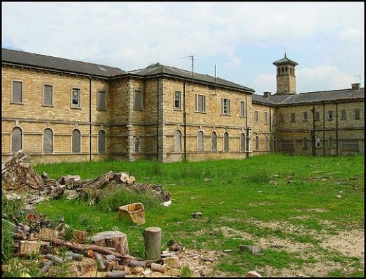 St Johns Hospital, formerly The County Pauper Lunatic asylum in Bracebridge Heath, Lincoln UK