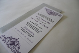 Tea-length invitation