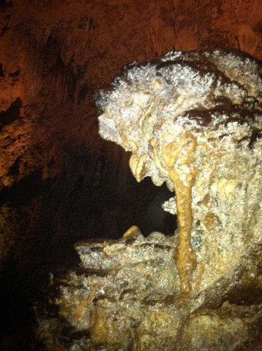 Just some of the interesting formations seen deep within the Camuy Caves.