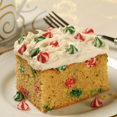 Walnut christmas cake