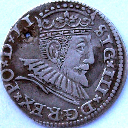 Sigismund III Vasa (1587 - 1632 AD) King Of Poland