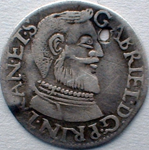 Gabriel Báthory (1608 -1613 AD) Prince Of Transylvania (coin is technically early modern)