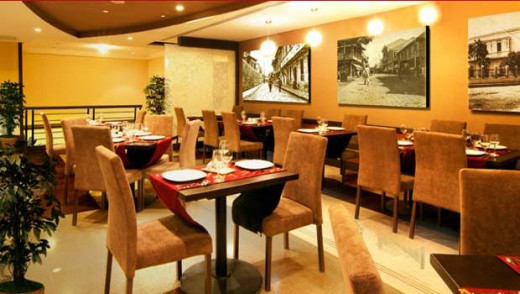 News Café located in the mezzanine of the Ramada Hotel.
