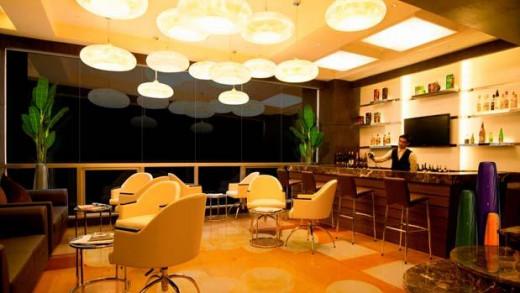 Lobby Lounge of the Ramada Hotel