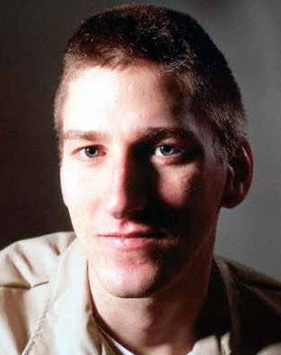 McVeigh is a clean cut young Christian who killed 168 people for his God