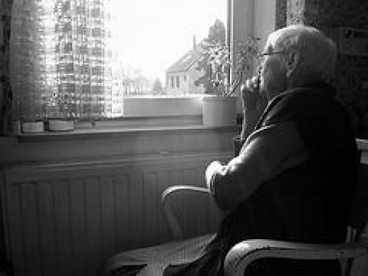 Depression can be a common problem in the elderly