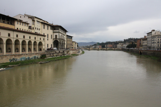 The fiume Arno (Arno river)
