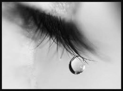 Dreams can bring tears.