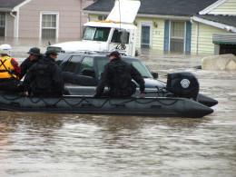 The Nashville flood of 2010.