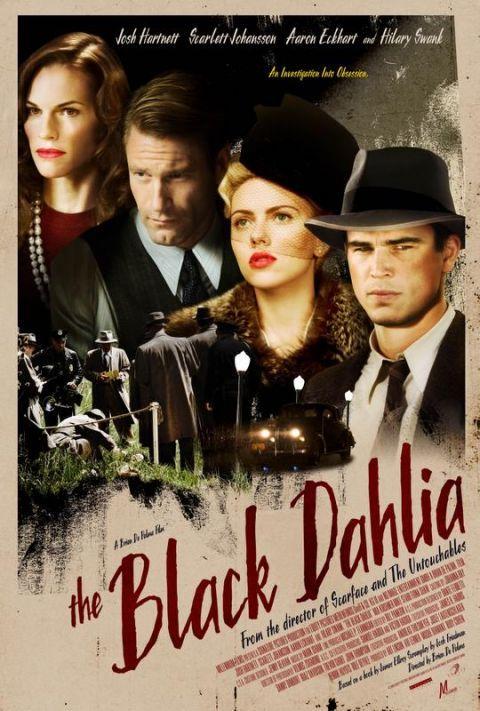 The Black Dahlia Movie Poster