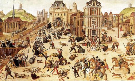 The Massacre at Saint Bartholomew, 1572