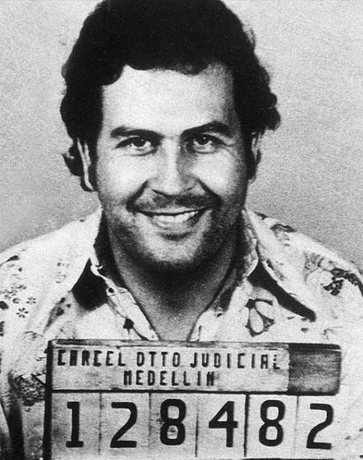Pablo Escobar, Colombian Drug Lord. His empire amounted to $25 Billion dollars back in 93