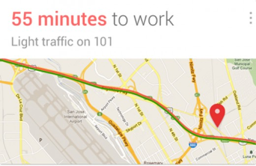 Google Now - Traffic Card