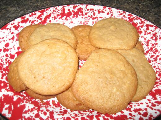 Kids love homemade cookies, too!