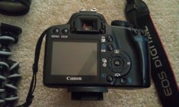 "Back Picture of my Canon with all the ""fun"" stuff"