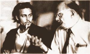 One of Depp's Favorites:  Author/Poet - Allen Ginsberg