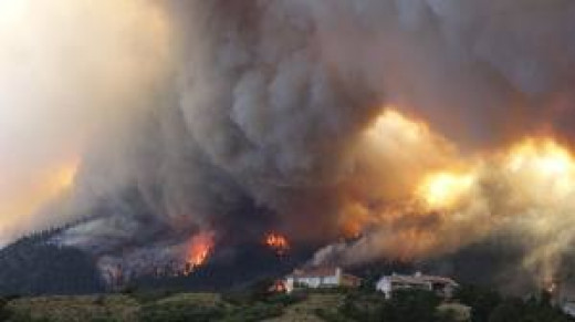 Acrid smoke and ash increases air pollution from Western wildfires.