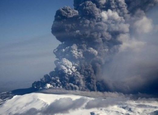 One active volcano creates more air pollution in one day than all other manmade sources combined.