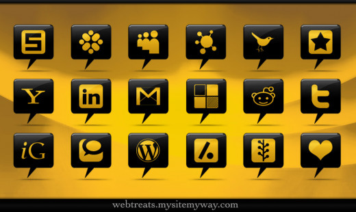 Some of the Social Media Icons
