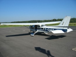 Cessna 172: Plane used in private pilot training