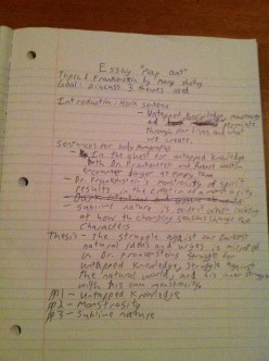 How to plan out a fantastic high school essay!