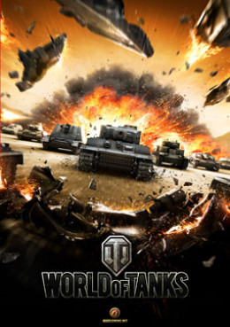 Picture is showing one of the World of Tanks cover photos