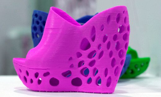 3-D Printed Shoes from The Cube