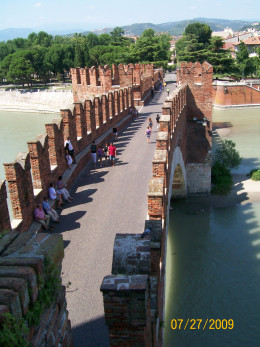 The bridge of Castelvecchio
