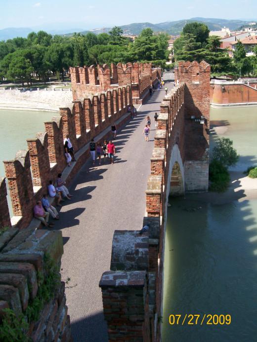 The bridge of Castelvecchio