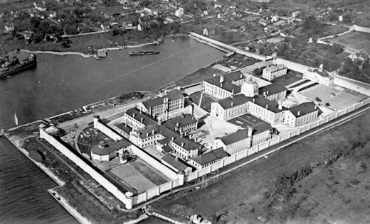 Kingston Penitentiary Photo taken in 1919