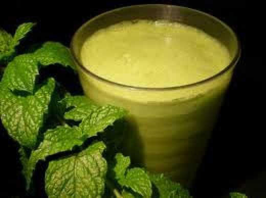 Fennel smoothie to aid digestion