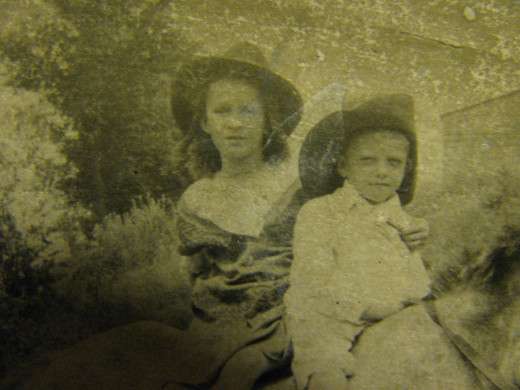 A mystery photo in my grandmother's album