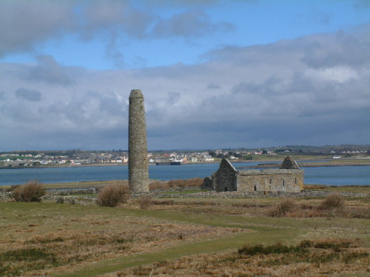 Scattery Island, County Clare, Ireland