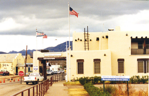Naco AZ, U.S. Border entry point