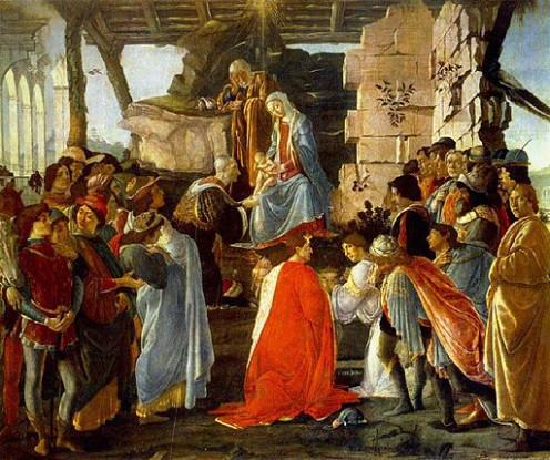 Sando Botticelli - Adoration of the Magi