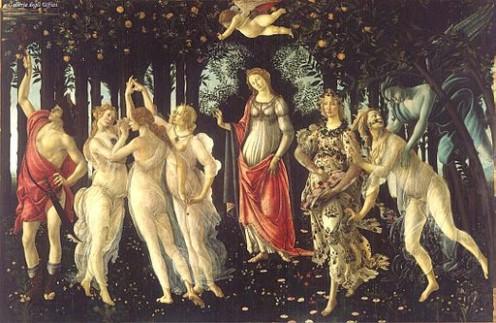 Sandro Botticelli: La Primavera, Allegory of Spring