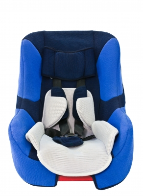 Everyday products such as children's car seats contain toxic flame retardant chemicals.