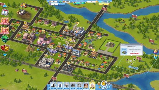 Sim City Social : Your City