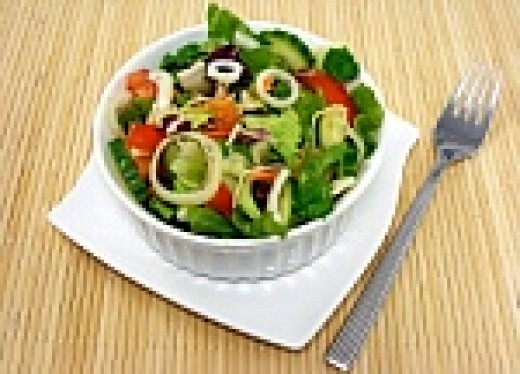 Eat a healthy bowl of vegetables