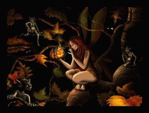 Mischievous Samhain Goblins