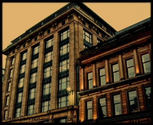 A building in Glasgow city centre!