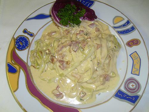 Fettucine alla Carbonara