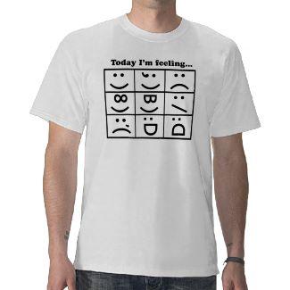 Emoticon t-shirt