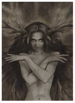 The Bad Faerie Queen by Brian Froud