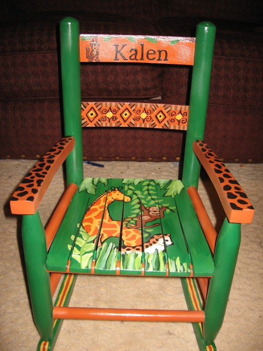 The always popular Jungle Chair