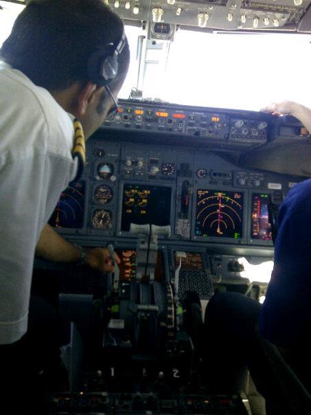 Charming Pilots crosschecking